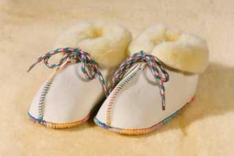 Baby Lambskin Shoes  