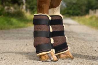 Sheepskin Joint Bandages |
