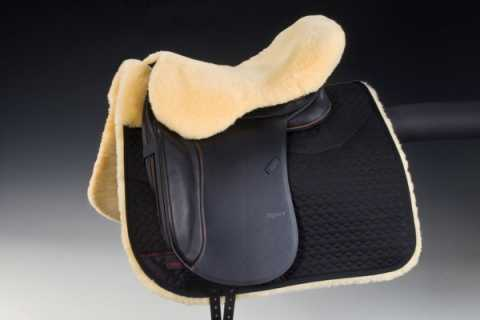 Sheepskin seat saver for |