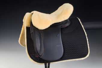Sheepskin seat saver for |