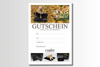 Geschenkgutschein Dog